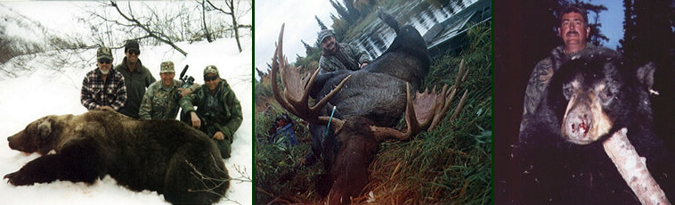Alaska Private Guide Service Moose Hunting Trophy